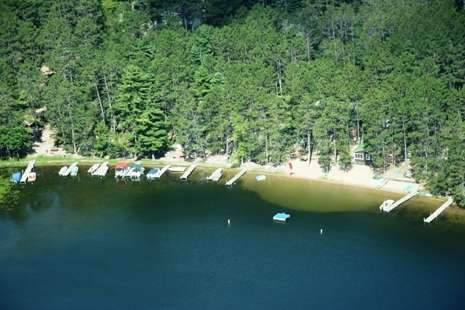 Pine Haven Resort on Blackwater Lake in Longville, MN