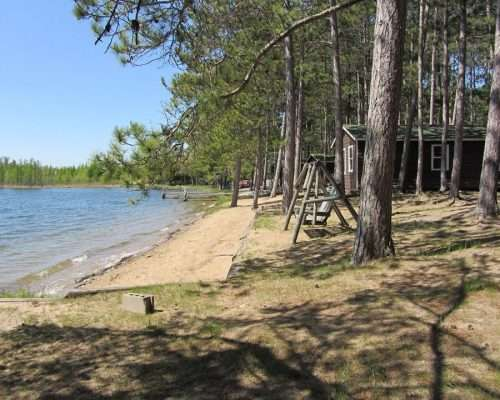 Pine Haven Resort on Blackwater Lake in Longville, MN